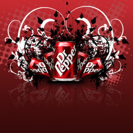 Dr pepper flavoured e-liquid