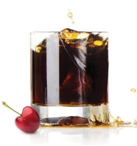 Cherry coke flavoured e-liquid
